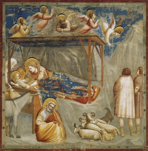 The Scrovegni Chapel frescoed by Giotto