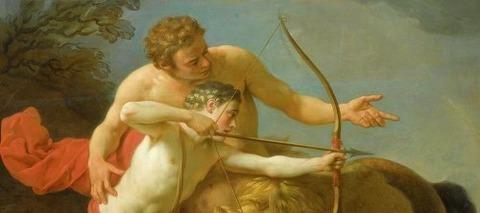 The Centaur Chiron by Louis Jean -