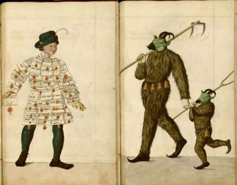 Radical Fashion from the Schembart Carnival (1590)13
