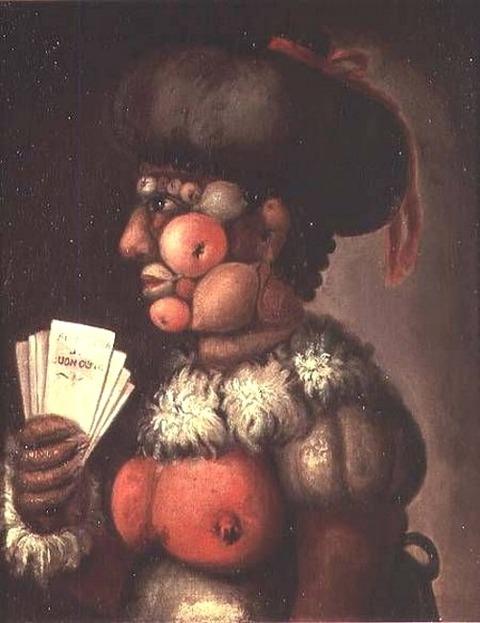 Giuseppe Arcimboldo The Lady of Good Taste