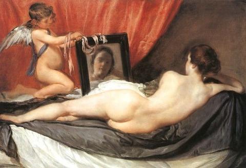The Toilet of Venus The Rokeby Venus Diego Velazquez 1647-51