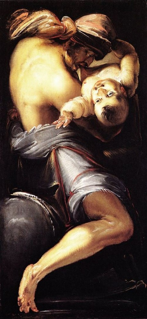 Daniele Crespi, Saturn Devouring His Children, 1619