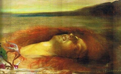 Albert Ciamberlani - Ophelia (1900)