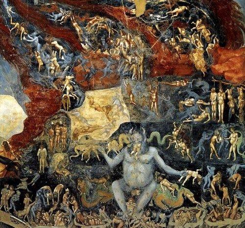 悪魔の絵画最後の審判