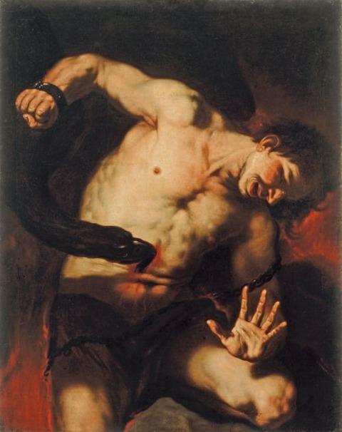 Prometheus, by Luca Giordano (1666)