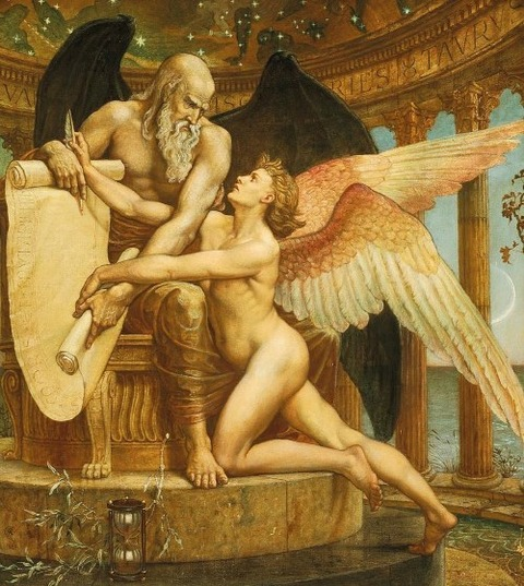 the-roll-of-fate-walter-crane 1882