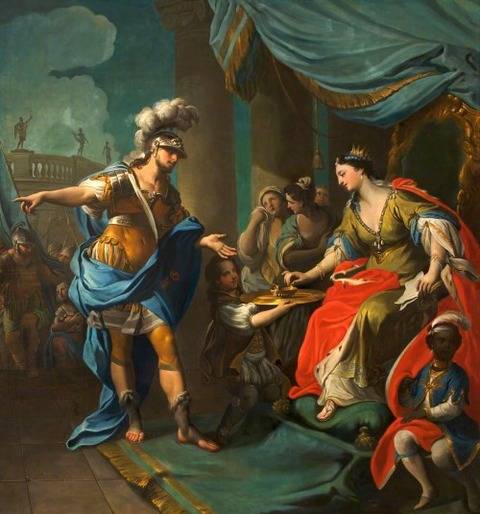 Sophonisba Taking Poison  Andrea Casali 1705–84
