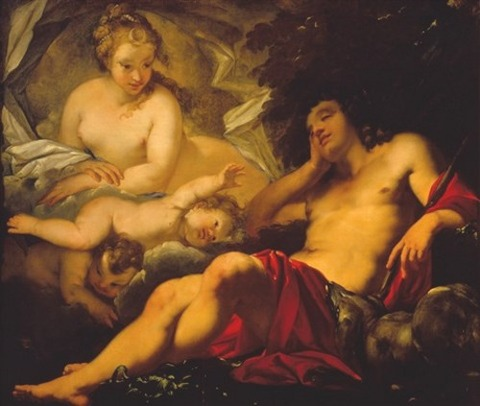diana and the sleeping endymion by antonio bellucci