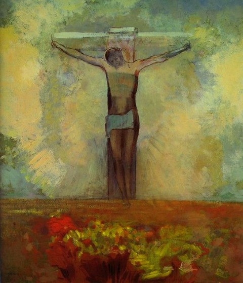 Redon - Christ en croix