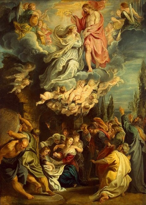Coronation-of-the-Virgin  rubens  1609