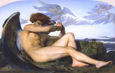 Fallen Angel (Alexandre Cabanel)1847