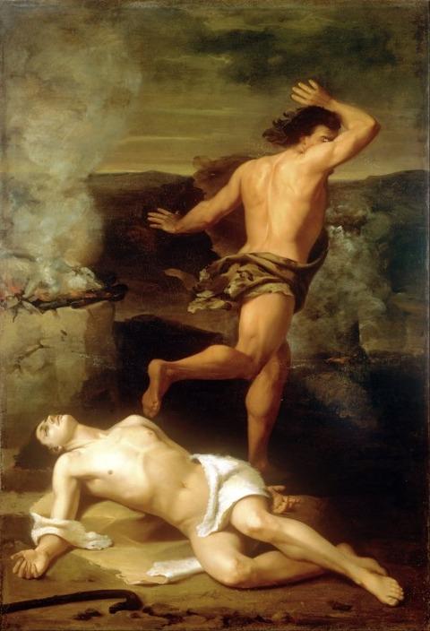 Santiago Rebull - The Death of Abel