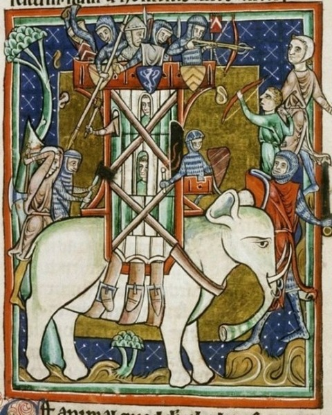 Middle Ages elephants 11
