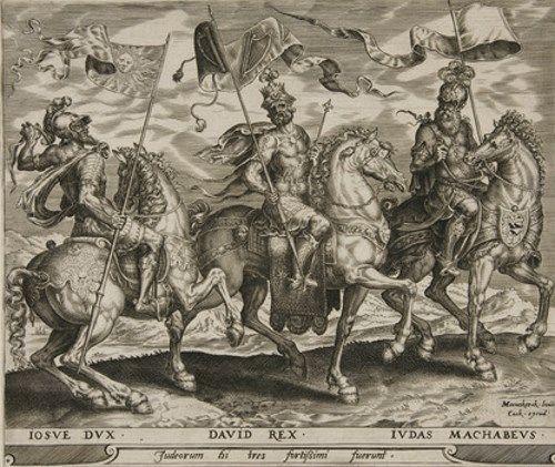 ユダヤの英雄ユダ・マカバイの絵画12点。エルサレムを奪還し宗教と地を ...