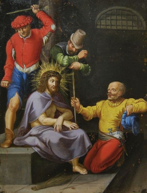 VINCENZO MANCIOLA (1595 -1675) Cristo deriso