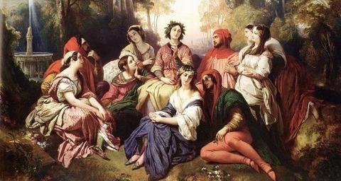 Xaver Winterhalter Decameron 1837 -