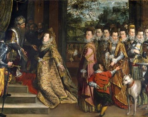 The Visit Sheba Solomon  Lavinia Fontana 1552-1614