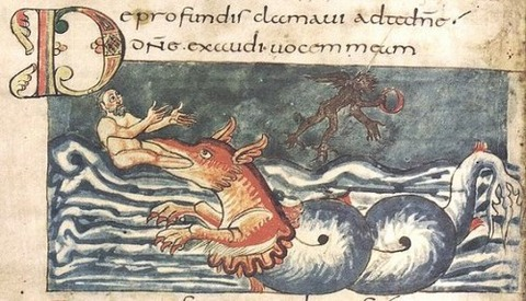 Carolingian miniature folio-147v