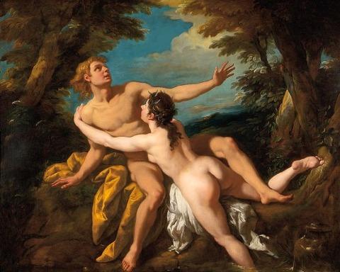 Salmacis And Hermaphroditus by Jean Francois de Troy 1679-1752