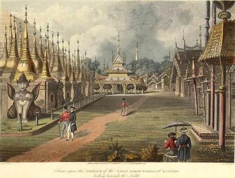 Dagon pagoda XIX.century