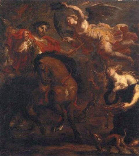 Zenobia of Palmyra the Emperor Aurelian Justus van Egmont