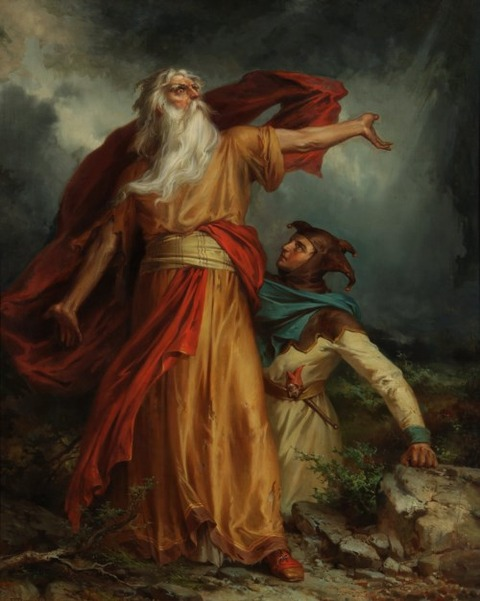 George Frederick Bensell  1837-79  King Lear