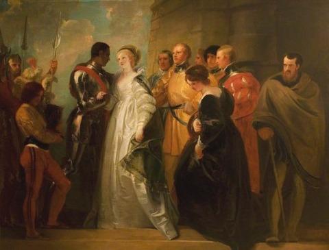 Thomas Stothard - The Return of Othello