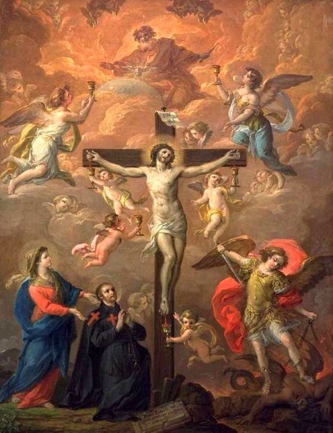Antonio Gonzalez Velazquez, The Crucifixion 18th