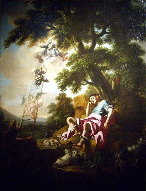 Songe de Jacob  School of Francesco Solimena