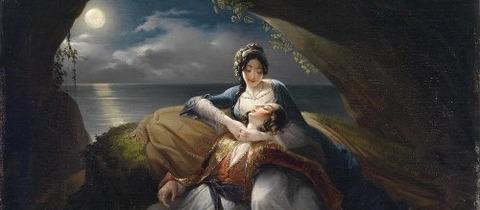 angelika-and-medor  Orlando Furioso  Ludovico Ariosto -