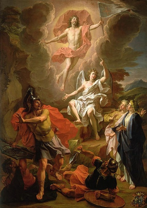 The Resurrection of Christ, 1700  Noel Coypel