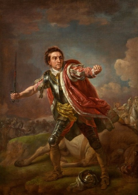 David Garrick as Gloucester in Richard III  1760