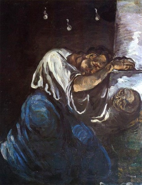 Paul Cézanne - La Madeleine, 1869