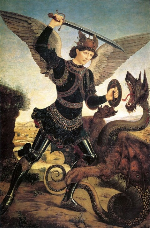 pollaiuolo-antonio-del-st-michael-and-the-dragon