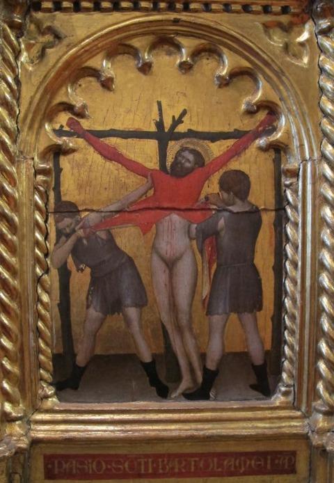 Giovanni da Milano - Polyptych with Madonna and Saints 1355