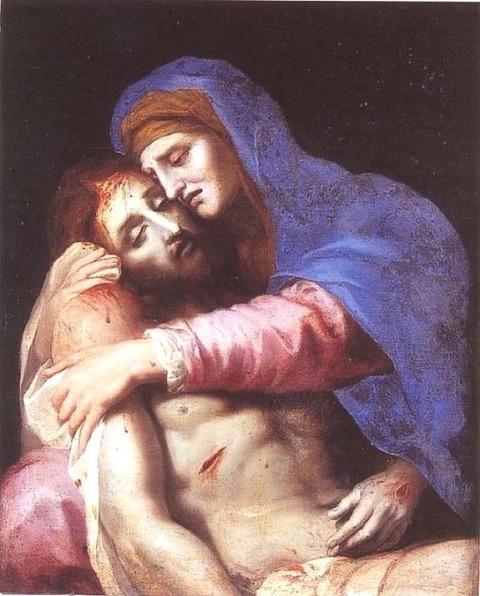 Jacques Stella, Pieta, 17th century