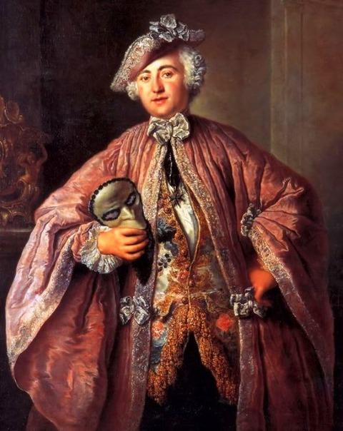 Antoine Pesne  Portrait of Egmont von Chasôt 1757
