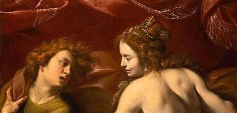 Carlo Francesco Nuvolone - Joseph wife Potiphar 1640 -