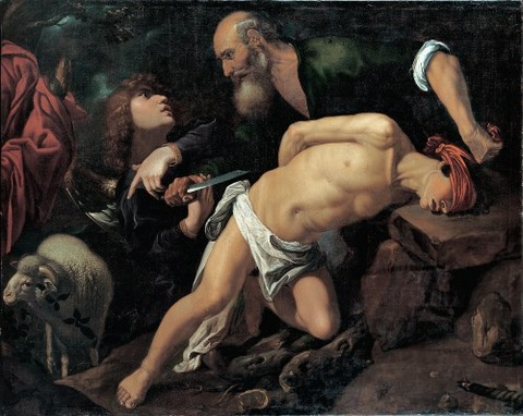 The Sacrifice of Isaac by Pedro Orrente