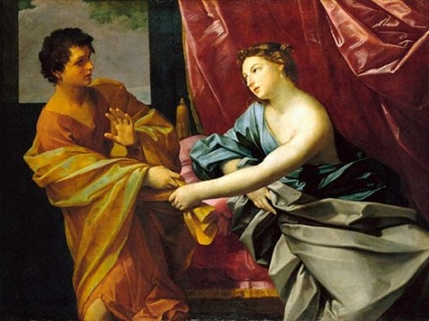 Joseph and Potiphar's Wife'Guido Reni, 1630