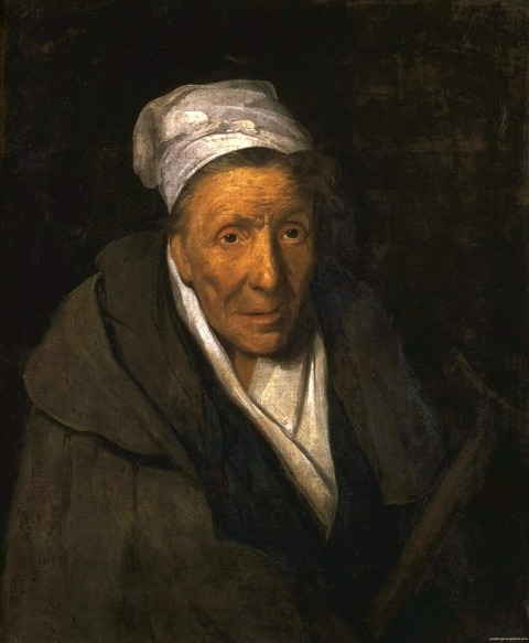 Théodore Géricault, A Woman Addicted to Gambling, 1822