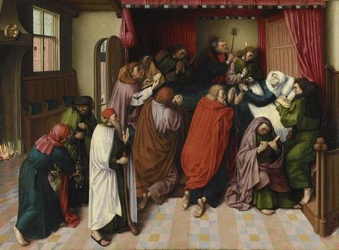 a follower of van der Goes  1500