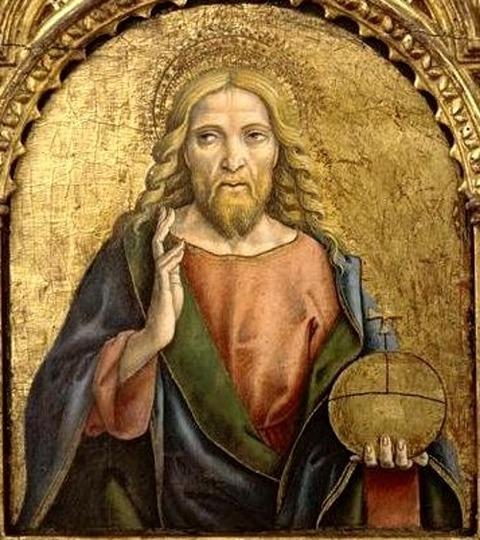 Carlo Crivelli, Cristo benedicente,  1470