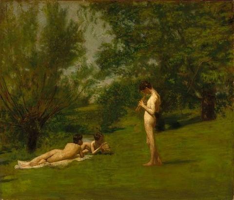 Thomas Eakins' Arcadia  1883