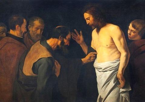 Leendert van der Cooghen - The Doubting Thomas  1654
