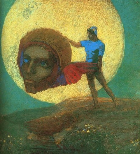 Odilon Redon, The Fall of Icarus, 1876