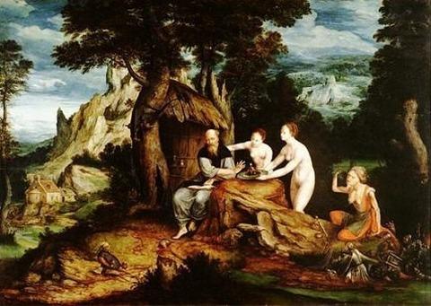 Cornelis Massys - The Temptation of Saint Anthony