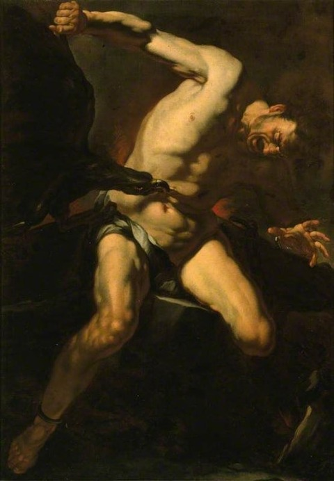 Prometheus Attributed to Caravaggio