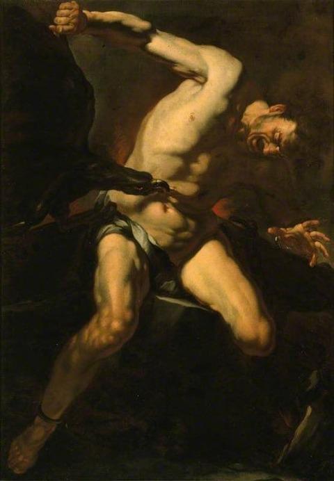 Prometheus Attributed to Caravaggio