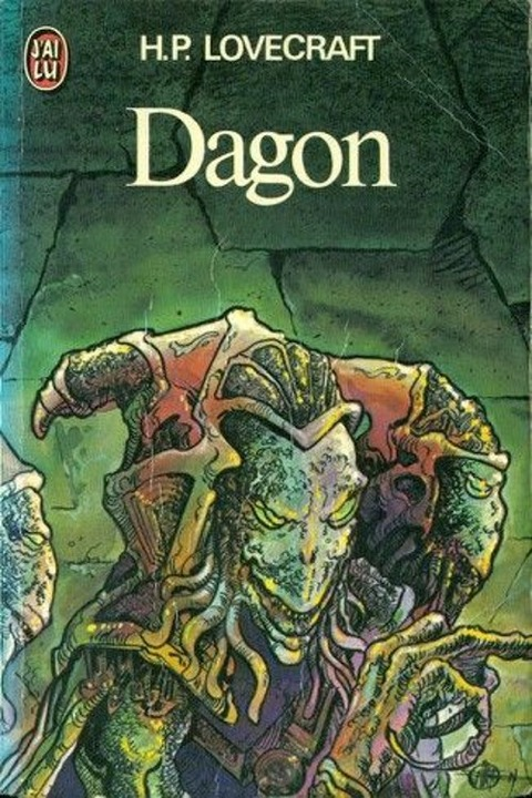 Lovecraft book dagon